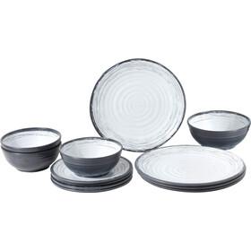 Brunner Midday grå/hvid